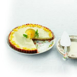HFG chilled lemon flan