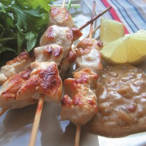 HFG chicken satay