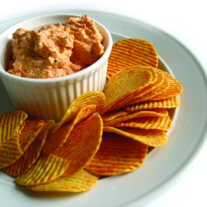 HFG feta and capsicum dip