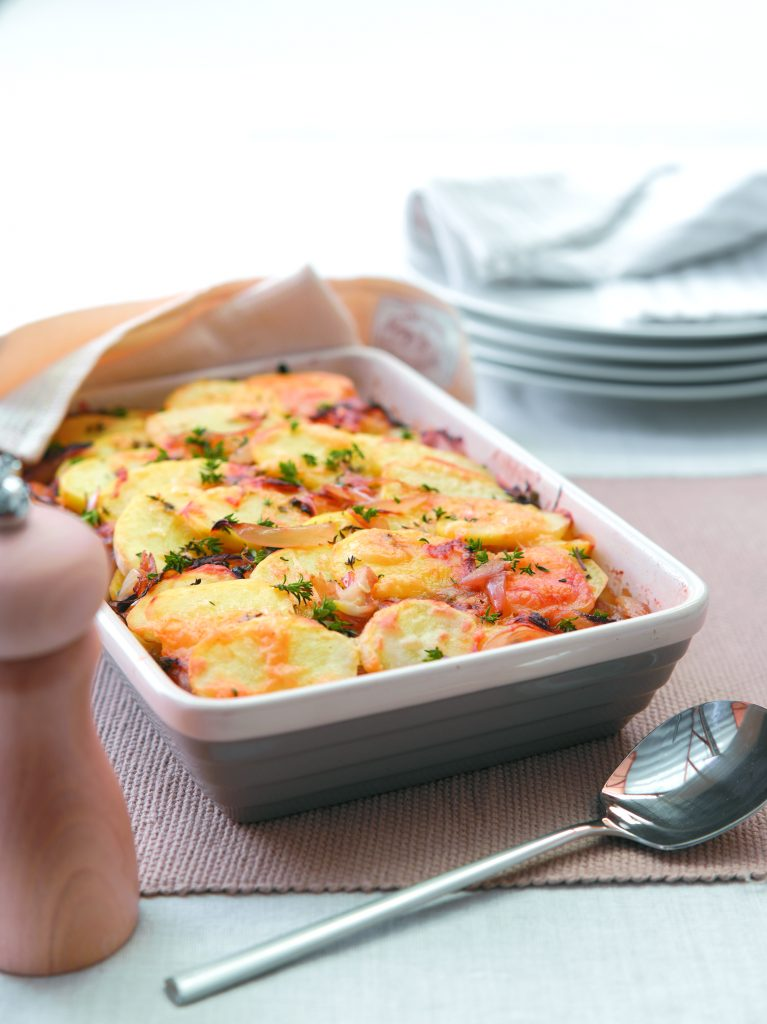 healthy potato bake