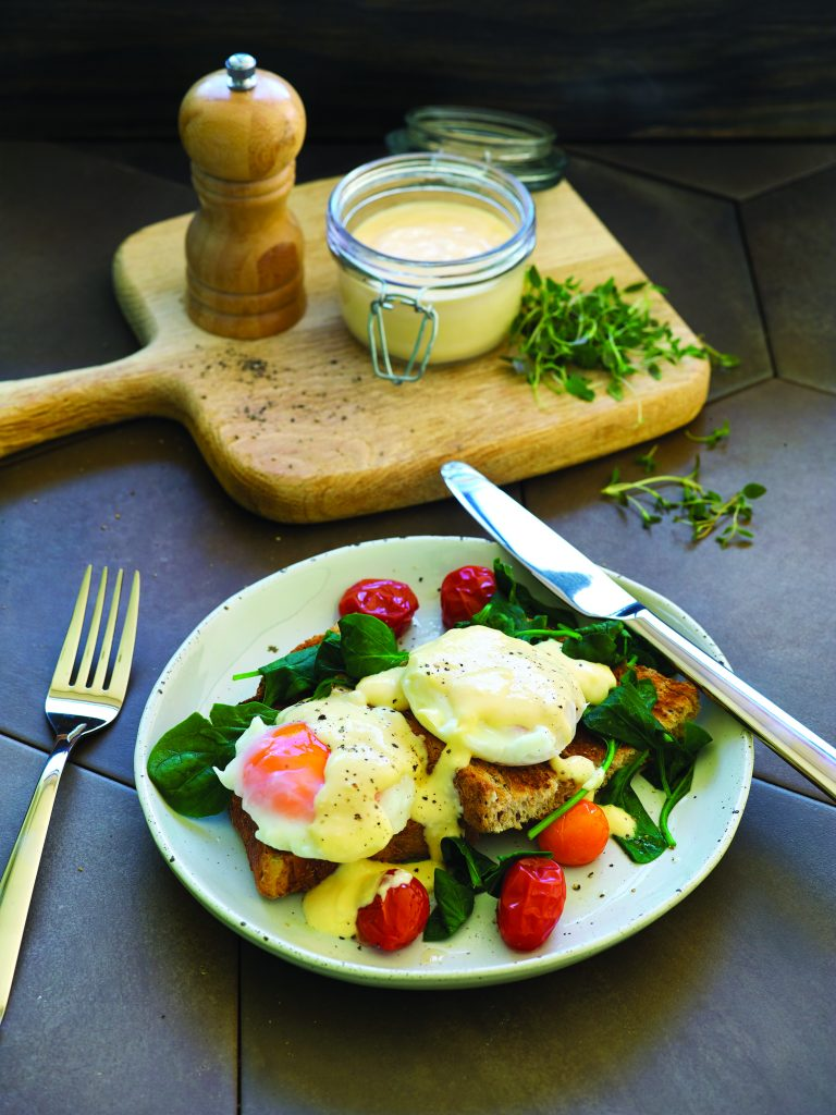 HFG reduced-fat hollandaise