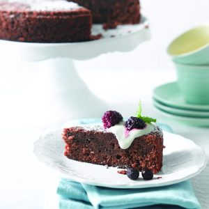 HFG ultimate gluten-free chocolate cake