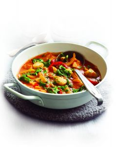 Hearty chicken and vege casserole