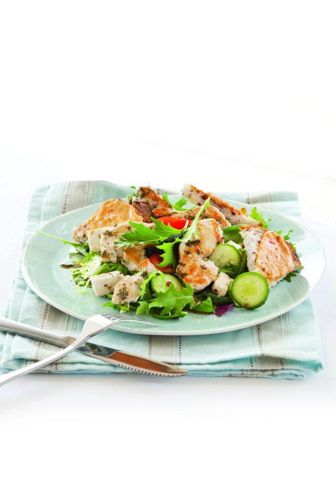 Herbed chicken salad