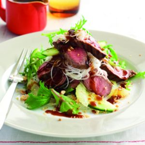 Hoisin lamb salad