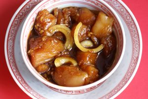 Honey, soy and ginger marinade / stir-fry sauce