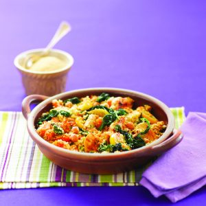 Honey and chicken couscous