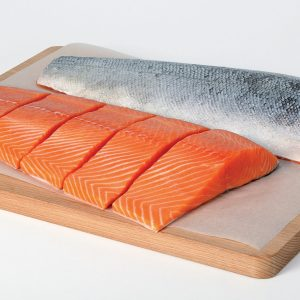 How do they produce salmon?