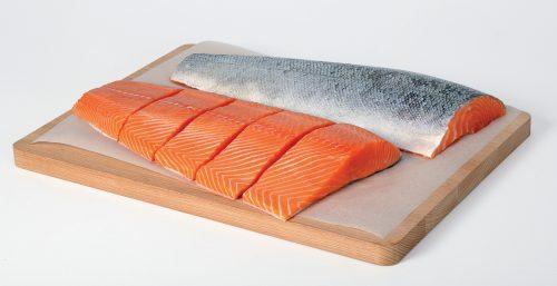 How do they produce salmon?