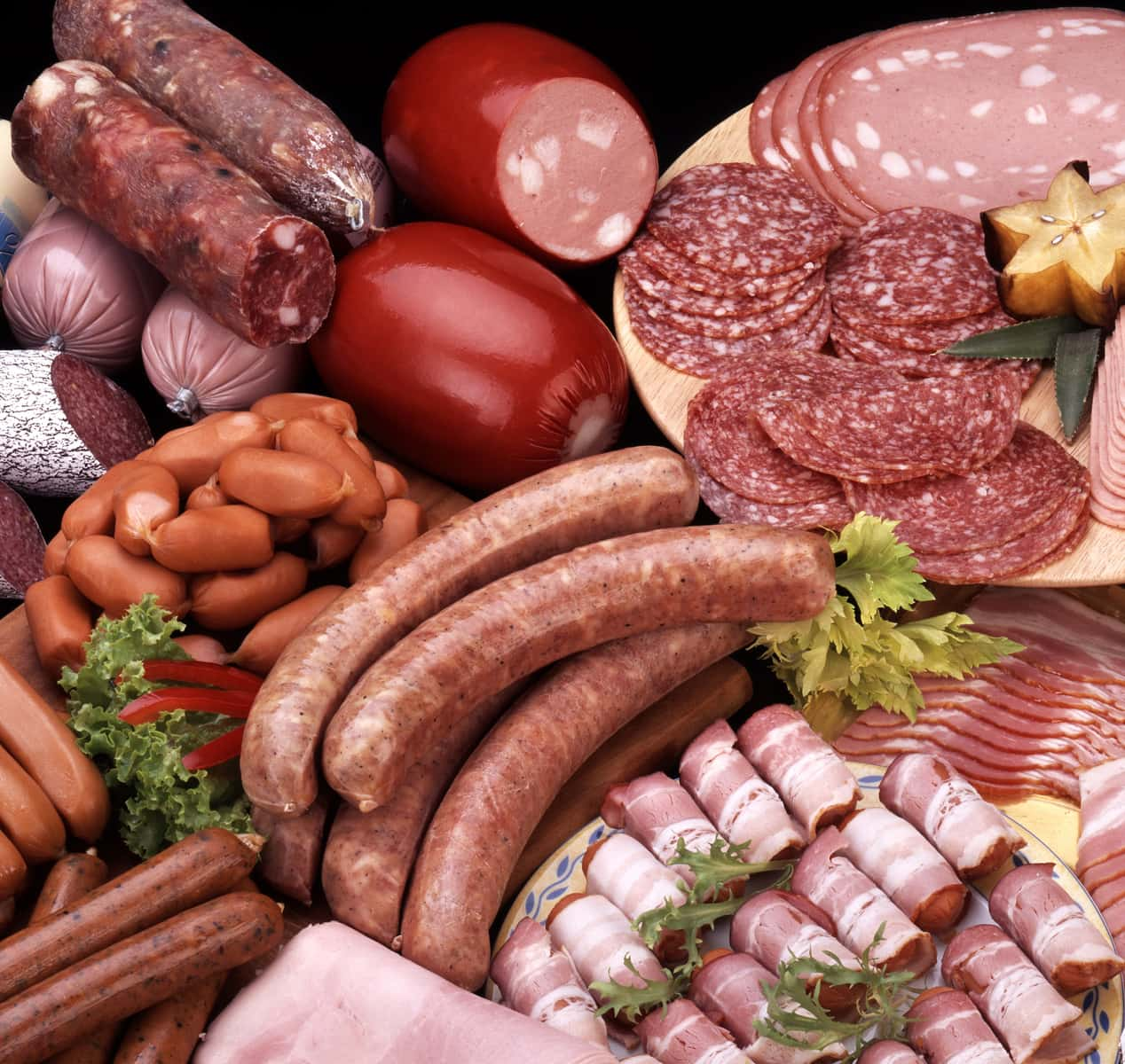 how much saturated fat is in that processed meat healthy food guide