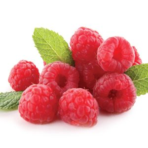In season early summer: Raspberries