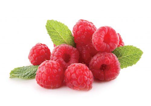 In season December: Raspberries