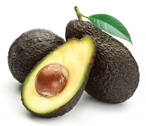 In season mid-summer: Avocados