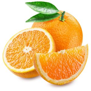 In season mid-winter: Oranges