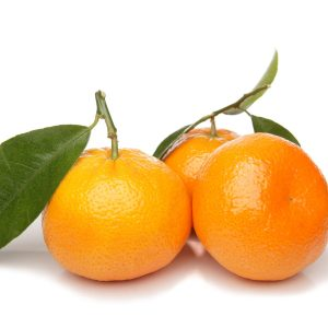 In season early winter: Mandarins