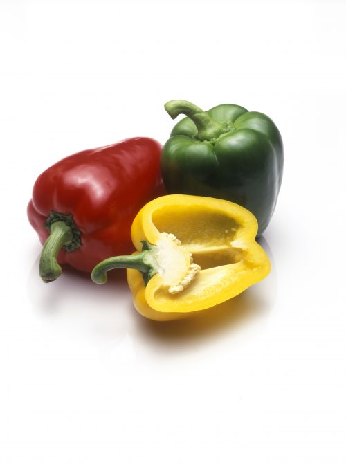 In season March: Capsicums