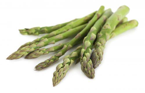 In season mid-spring: Asparagus