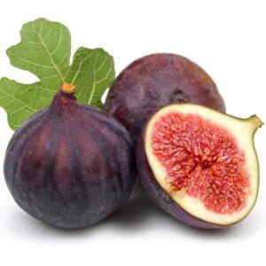 In season early autumn: Figs, silver beet, marrow