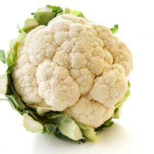 In the garden: Cauliflower
