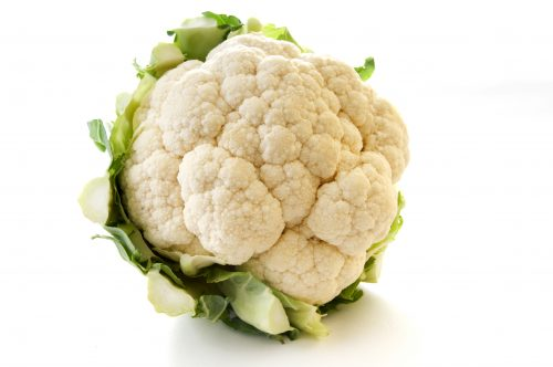 In the garden: Cauliflower