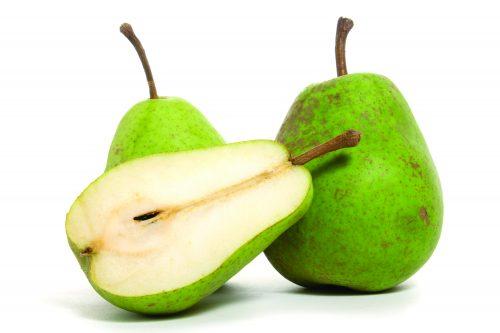 In season April: Pears