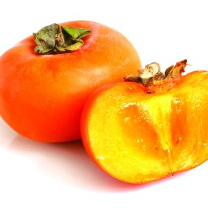 In season late winter: Persimmons