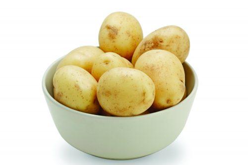 In season December: New potatoes