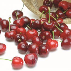 In season mid-summer: Cherries