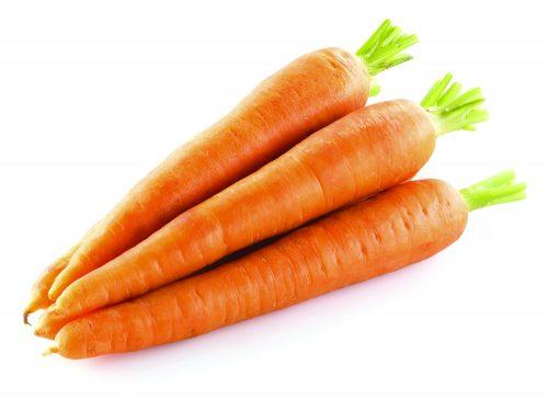 In season mid-winter: Carrots, kiwifruit