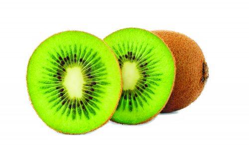 In season mid-winter: Kiwifruit