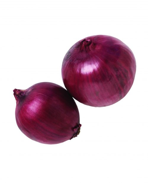 In season mid-winter: Onions