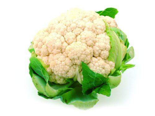 In season early winter: Cauliflower