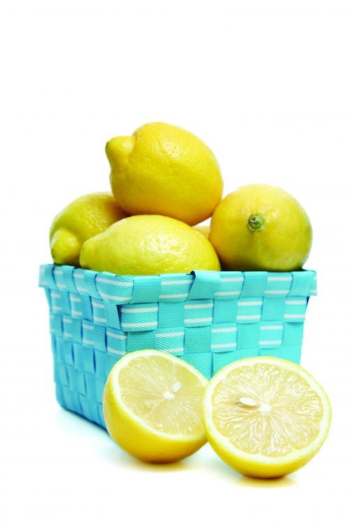 In season early winter: Lemons