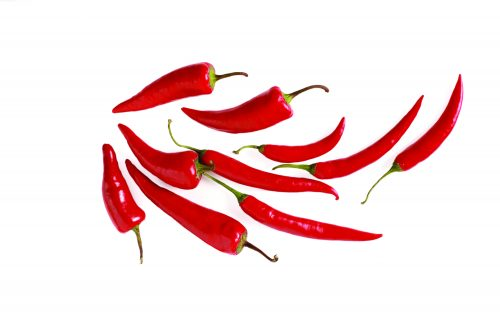 In season autumn: Chillies