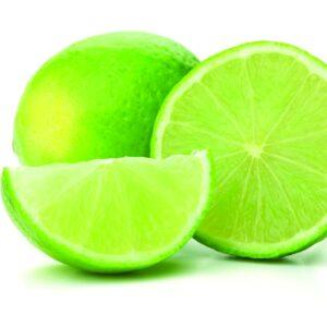 In season autumn: Limes