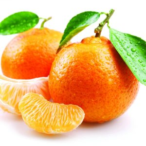In season late autumn: Mandarins