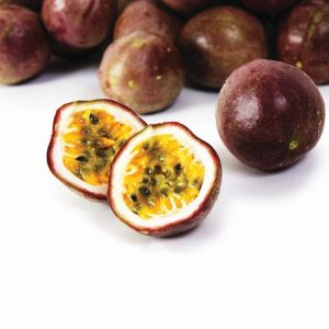 In season late autumn: Passionfruit