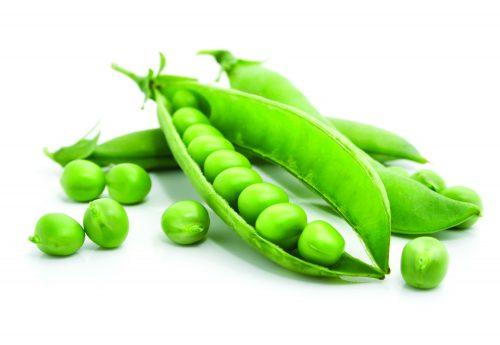 In season late spring: Peas