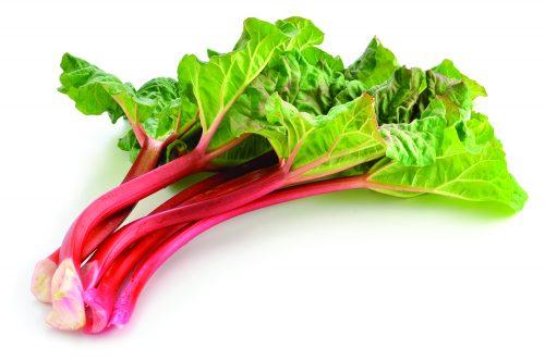 In season mid-spring: Rhubarb, parsnips