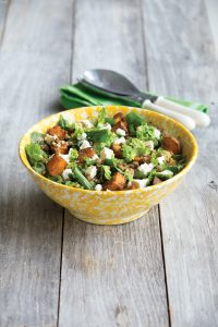 Indian-style spiced kumara salad