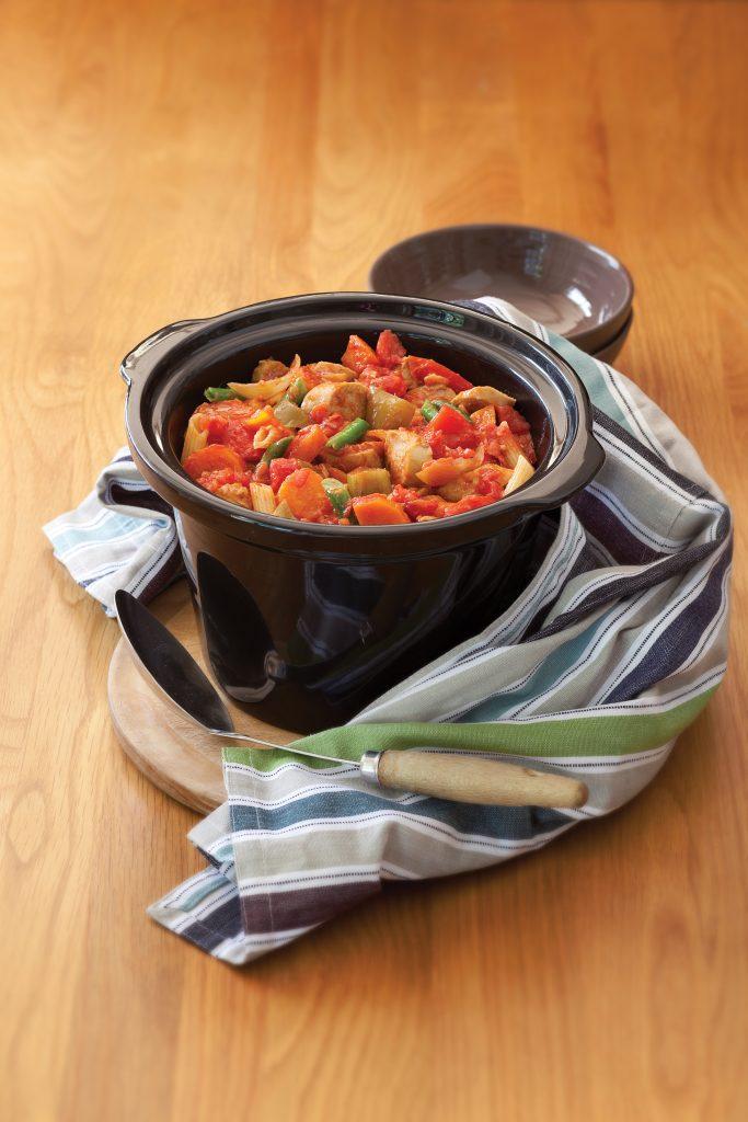 Italian sausage hot pot