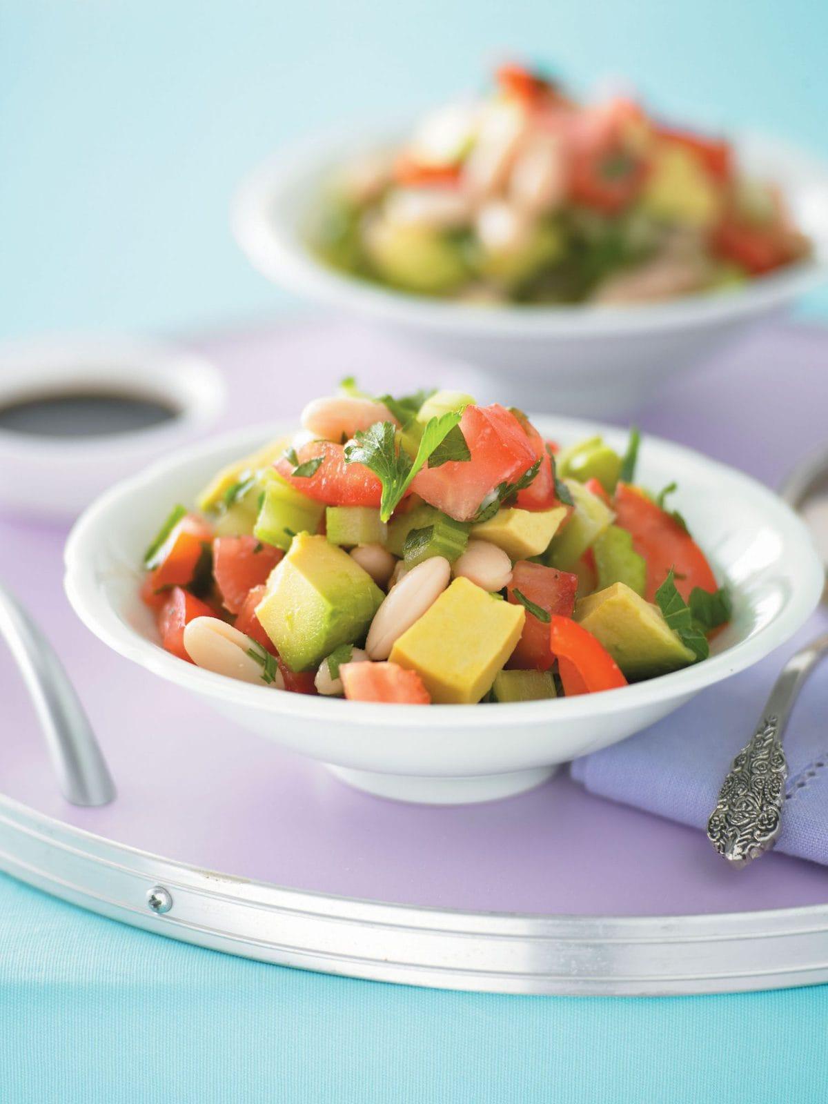 Keep 'em keen bean salad