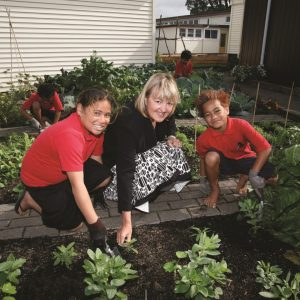 Kiwi kids learning from seed to fork
