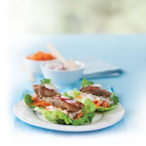 Korean-style barbecue chicken