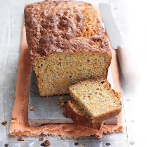 Kumara and banana loaf