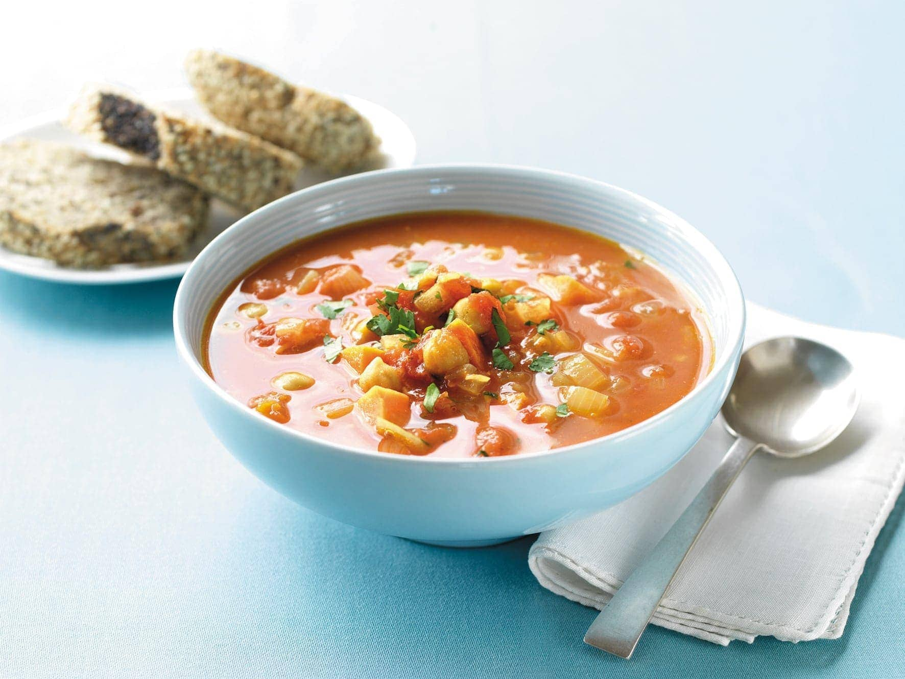 Kumara And Chickpea Soup Healthy Food Guide