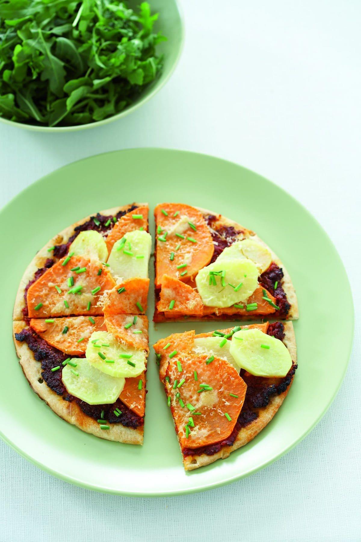 Kumara pizza | Healthy Food Guide
