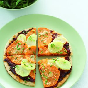 Kumara pizza