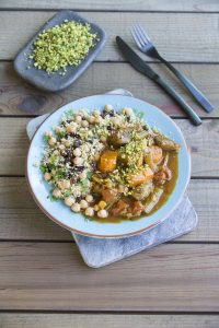 Lamb tagine with couscous