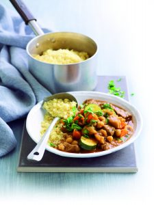 Lamb, chickpea and fig tagine